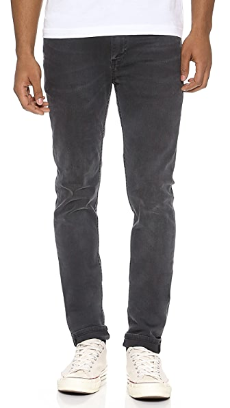 BLK DNM Skinny Fit Classic Faded Jeans 25