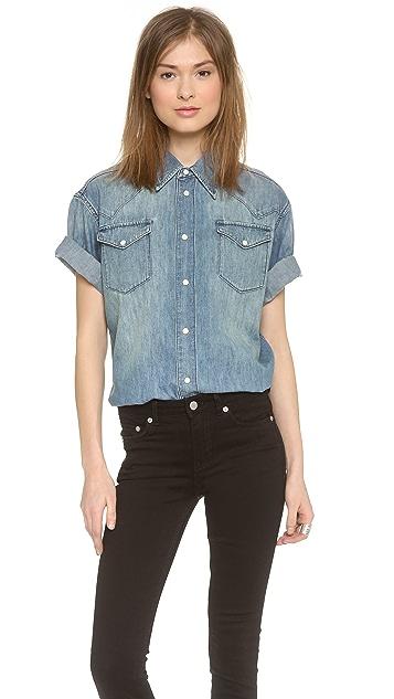 BLK DNM Jean Shirt 3