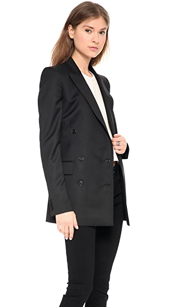 BLK DNM Iconic Double Breasted Blazer