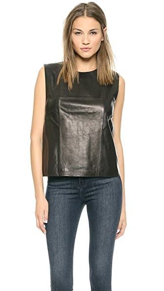 BLK DNM Leather Shirt 23