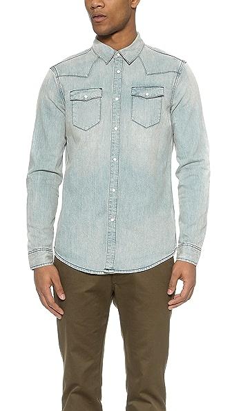 Blk Dnm Jeans Shirt 5 - Wendt Blue
