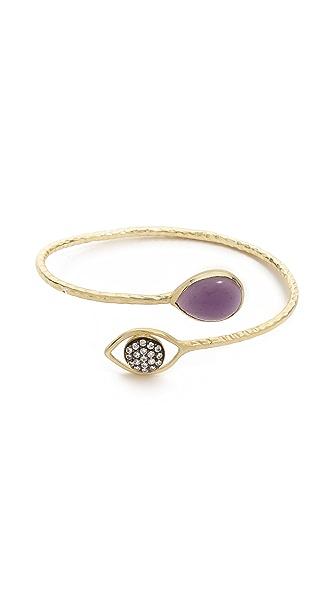Blossom Box Pave Eye Bracelet