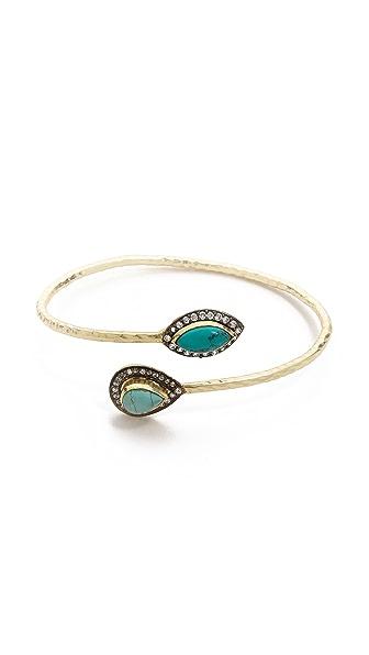 Blossom Box Turquoise Stone Bracelet