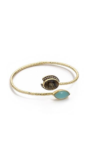 Blossom Box Pave Stone Bracelet