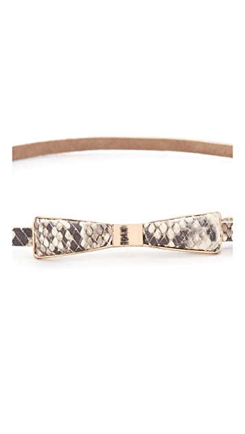 B-Low The Belt Bowie Snake Belt