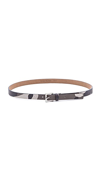 B-Low The Belt Camouflage Skinny Belt
