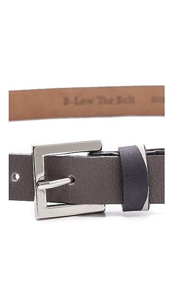 B-Low The Belt Camouflage Skinny Belt