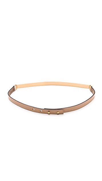 B-Low The Belt Skinny Metal Belt