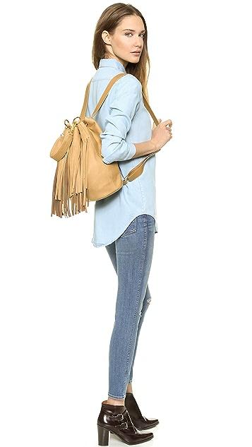 B-Low The Belt Weekender Fringe Backpack