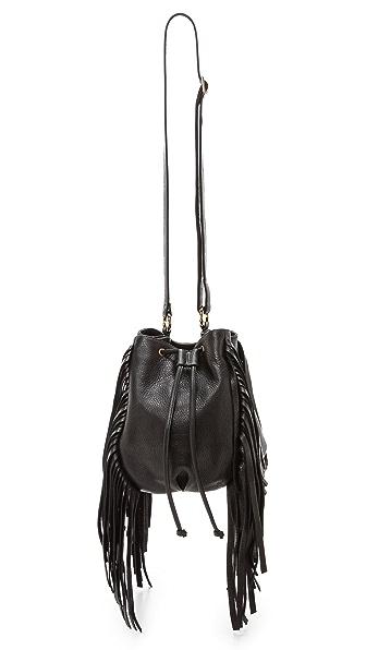 B-Low The Belt Lo Fringe Mini Bucket Bag