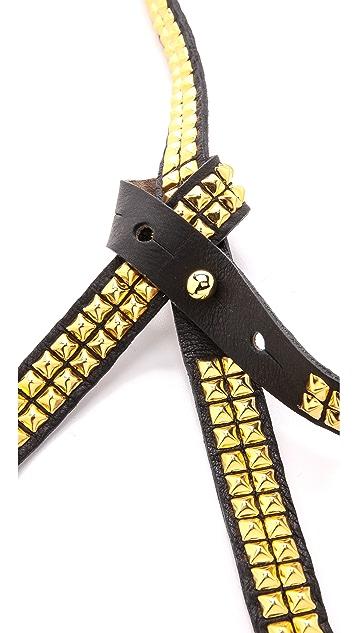 B-Low The Belt Studded Tie Belt