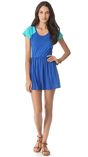Blue Life Burger Dress