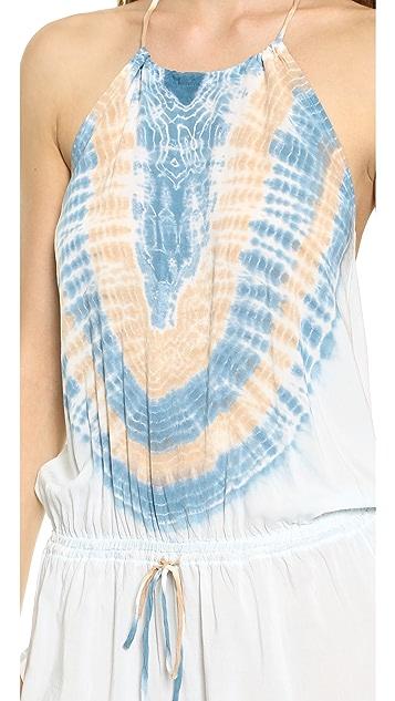 Blue Life Island Life Halter Dress