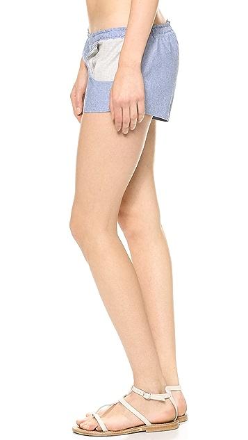 Blue Life Americana Chambray Shorts