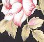Black Peach Floral