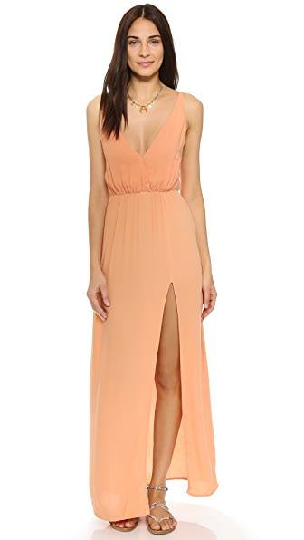 Blue Life High Tide Maxi Dress - Papaya