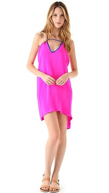 Blu Moon Colorblock Dress