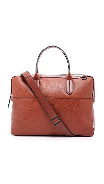 Uri Minkoff Vegetable Tanned Fulton Briefcase