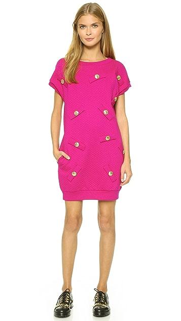 Boutique Moschino Sweatshirt Dress