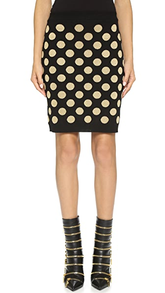 Boutique Moschino Polka Dot Skirt