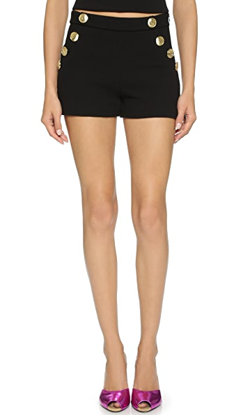 Boutique Moschino Mini Shorts - Black