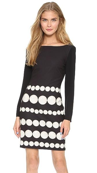 Kupi Boutique Moschino online i prodaja Boutique Moschino Long Sleeve Dress Black haljinu online