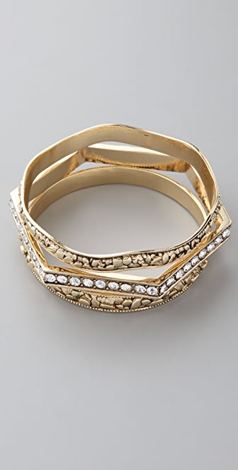 Belle Noel Stacking Bangle Set
