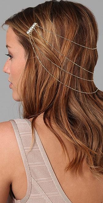 Belle Noel Honey Hexagon Hair Comb
