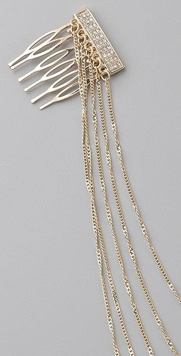 Belle Noel Pave Hair Chain