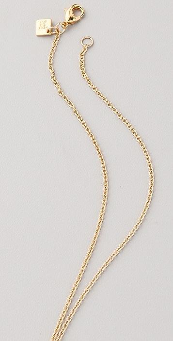 Belle Noel Teardrop and Diamond Necklace