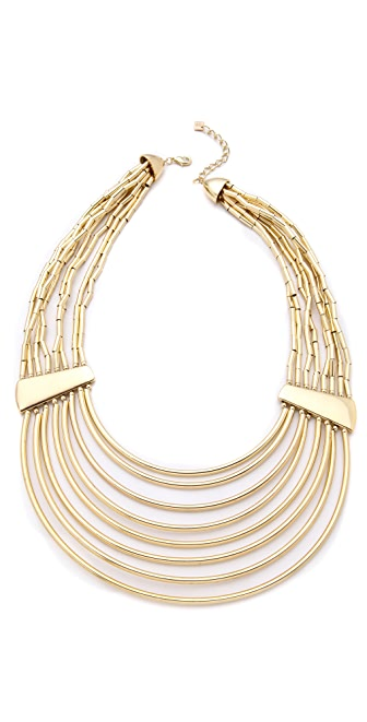 Belle Noel Tube & Bead Collar Necklace