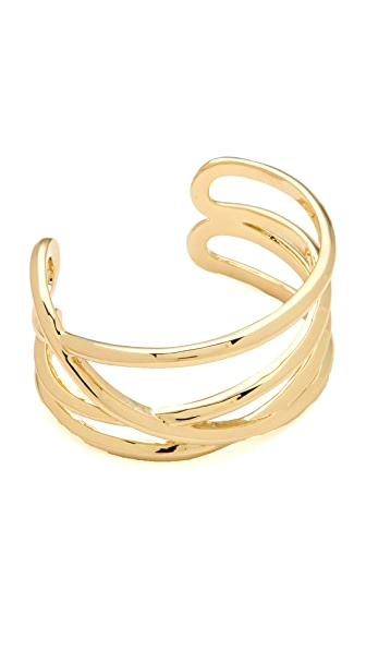 Belle Noel Gold Thread Everyday Cuff