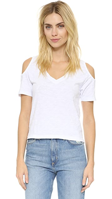 bobi Cold Shoulder Tee
