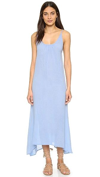 bobi Flowy Maxi Dress