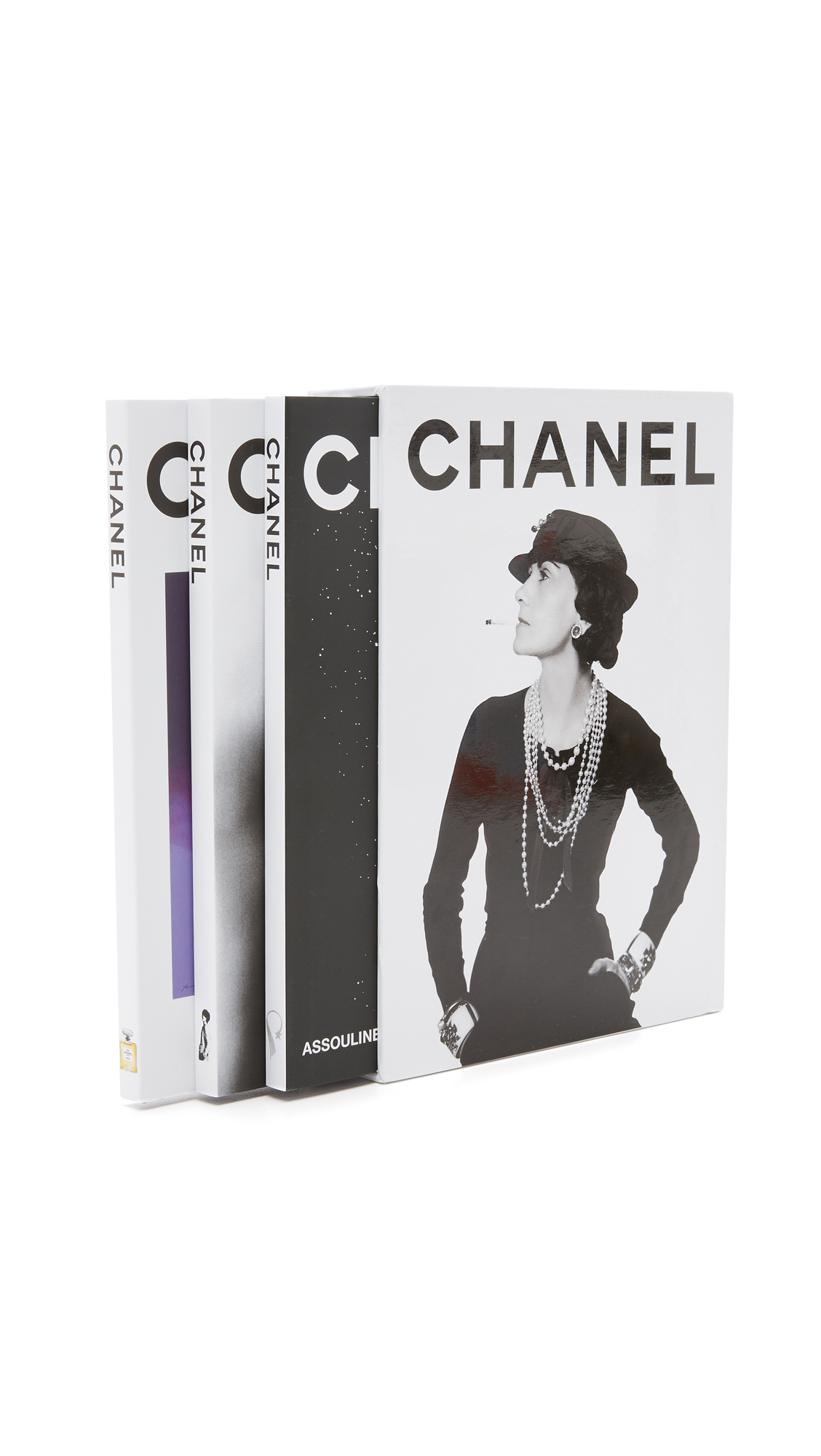 Books with Style Chanel Three Book Set - No Color