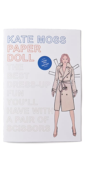 Books with Style Kate Moss Paper Dolls