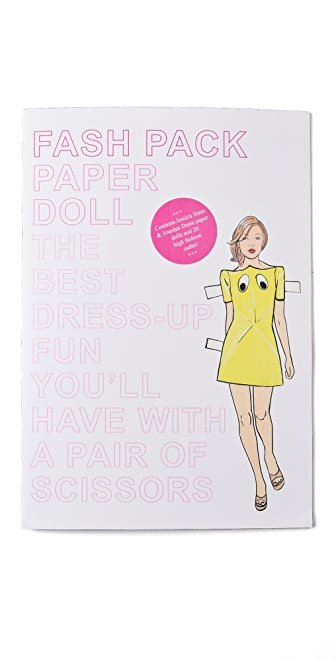Books with Style Fashion Pack I Paper Dolls