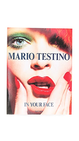 Books with Style In Your Face by Mario Testino