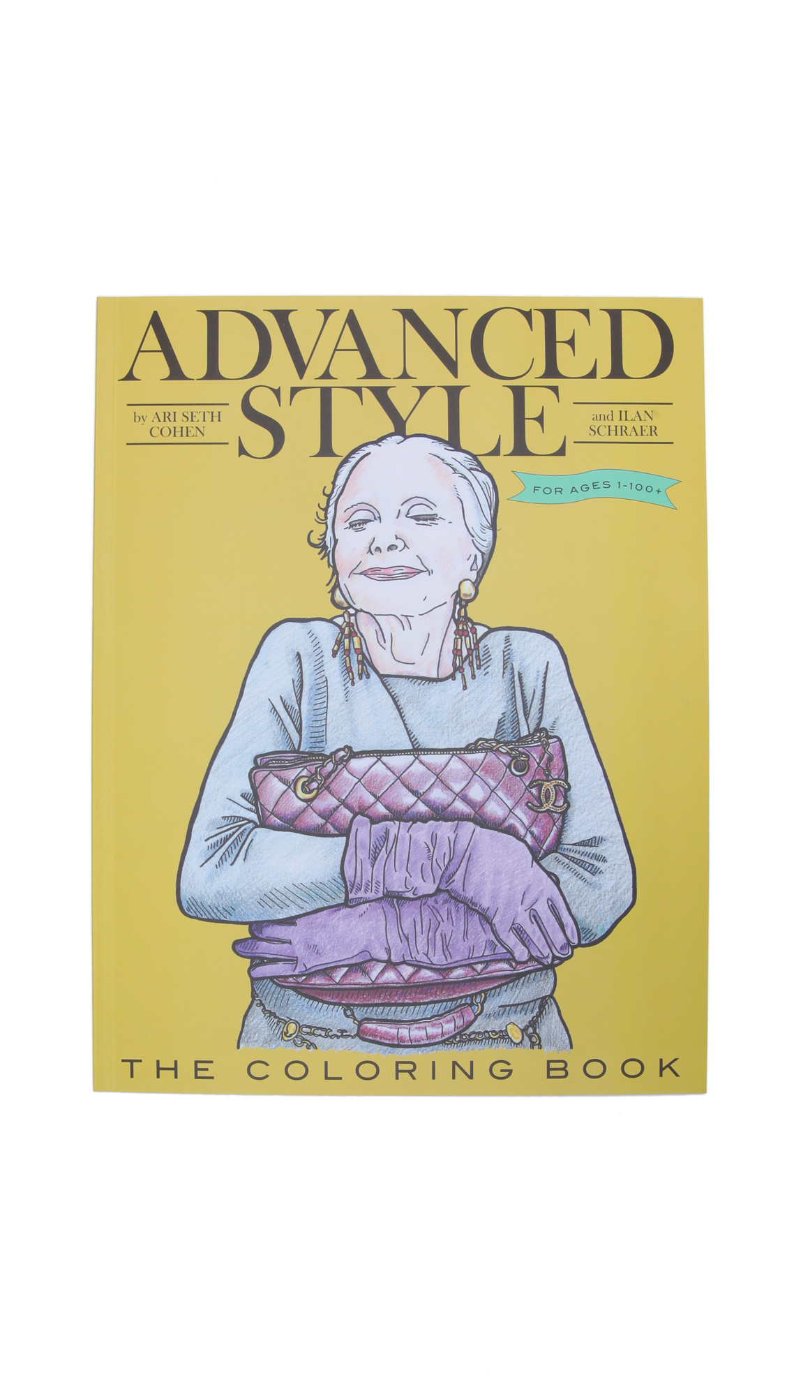 Books with Style Advanced Style Coloring Book