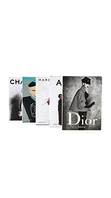 Books with Style Fashion Memoires Book Set