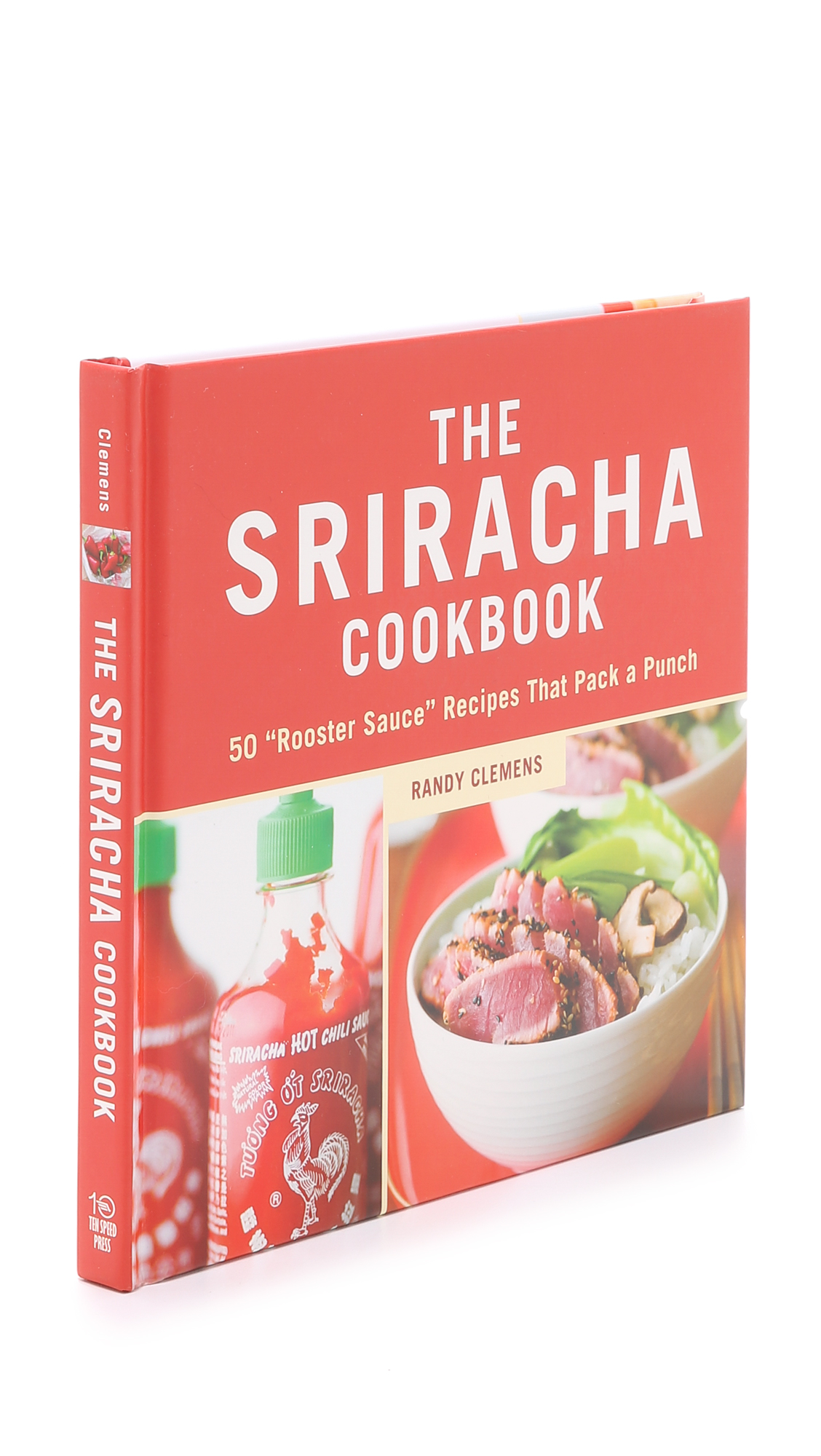 Books with Style The Sriracha Cookbook - No Color