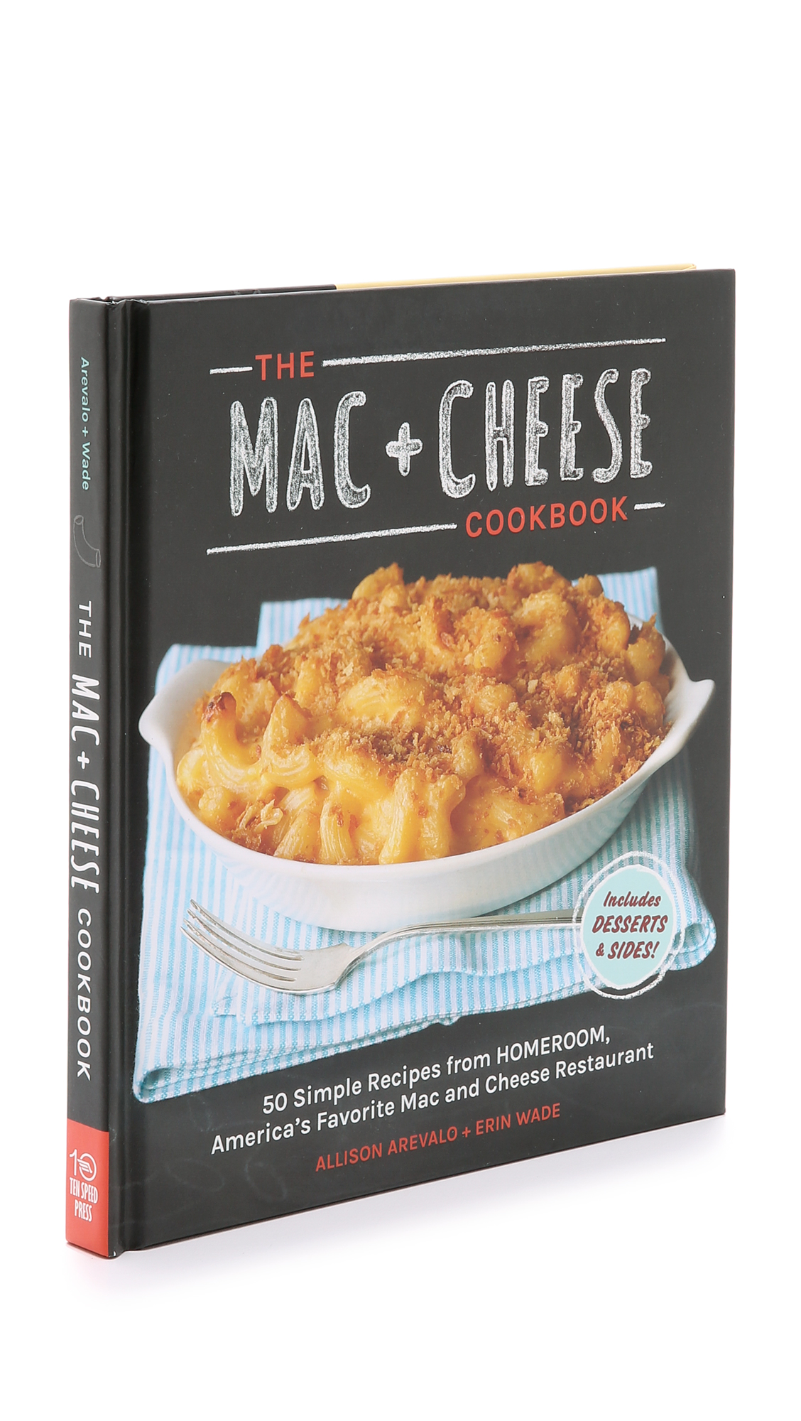 Books with Style The Mac + Cheese Cookbook - No Color
