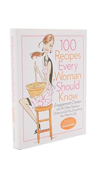 Books With Style 100 Recipes Every Woman Should Know - No Color