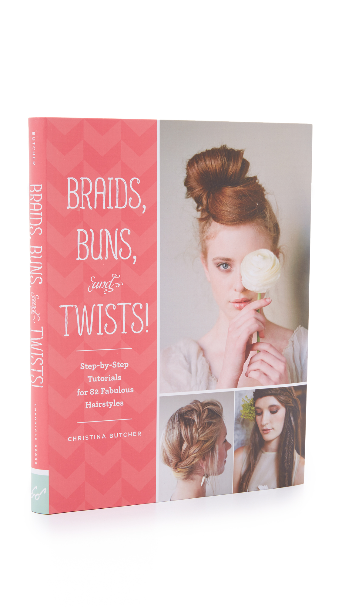 Books with Style Braids, Buns and Twists! - No Color
