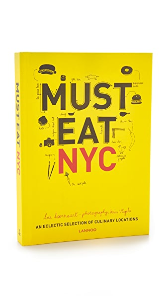 Books with Style Must Eat NYC at Shopbop