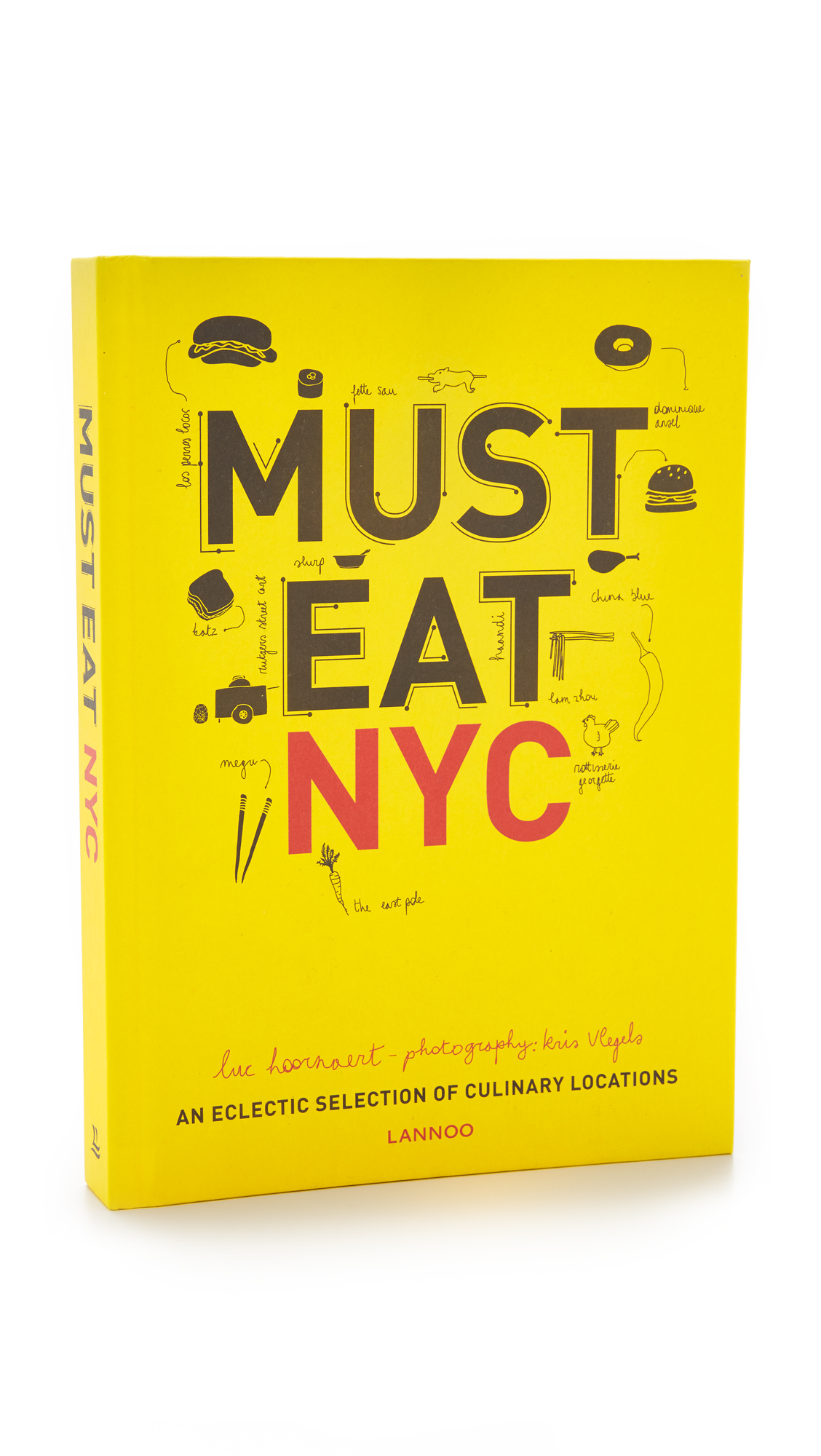 Books with Style Must Eat NYC - No Color