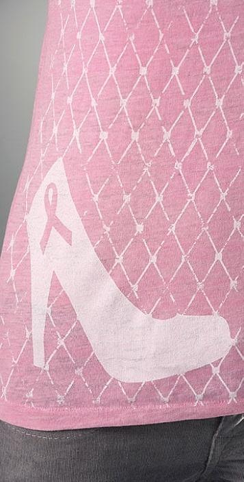 Bop Basics Denise Richards Breast Cancer Awareness Tee