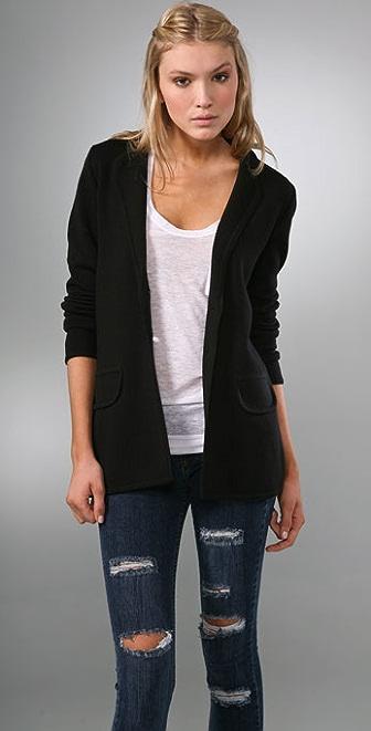 Bop Basics Long Wool Blazer