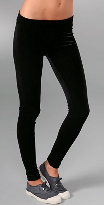 Bop Basics Velvet Leggings