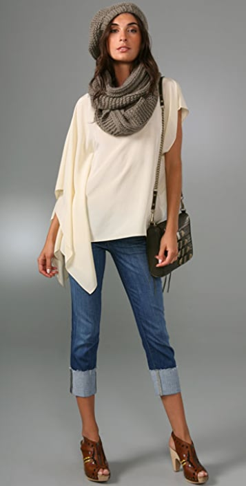 Bop Basics Thick Knit Eternity Scarf